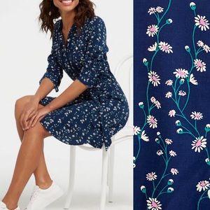 Draper James Daisy Vine Floral Shirtdress